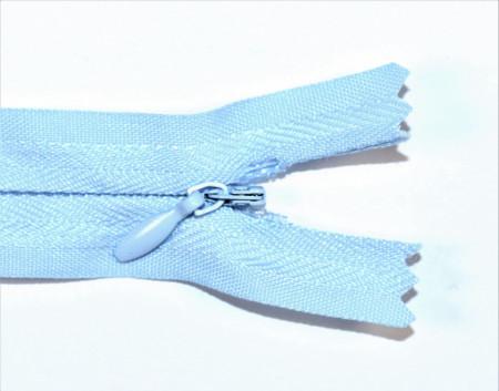 Fermoare ascunse 50 cm - cod 183 bleu