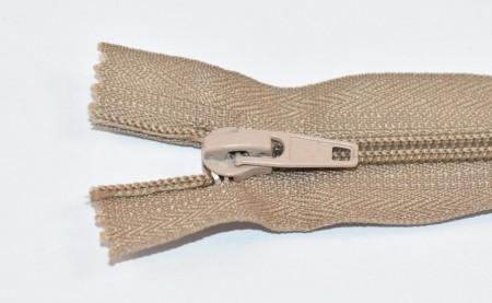 Fermoare nylon fixe nr. 5 - 20 cm bej