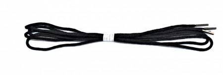 Sireturi pantofi 90 cm rotunde - negre