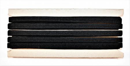Tresa elastica Eva 9 mm - 20 m / rola negru