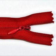Fermoare ascunse 50 cm - cod 519 rosu inchis
