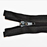 Fermoare nylon detasabil nr. 5 - 80 cm negru