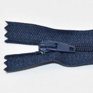 Fermoare nylon fixe nr. 3 - 20 cm bleumarin