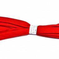 Sireturi 110 cm late - rosu