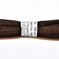 Sireturi bocanci 160 cm - maro - plate