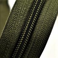 Fermoare nylon detasabil nr. 5 - 50 cm kaki