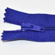 Fermoare nylon fixe nr. 3 - 20 cm albastru
