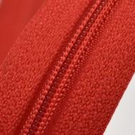 Fermoare nylon fixe nr. 3 - 50 cm, cod - 148 rosu