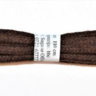 Sireturi bocanci 110 cm rotunde - maro