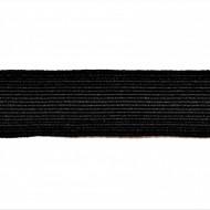 Tresa elastica Eva 15 mm - 10 m / rola negru