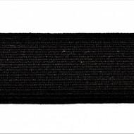 Tresa elastica Eva 25 mm - 10 m / rola negru