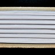 Tresa elastica Eva 6 mm - 20 m / rola alb