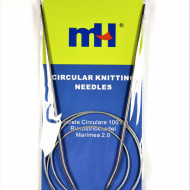 Andrele circulare cu fir metalic - 2 mm