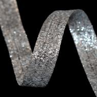 Banda Steluta 15 mm - 50 m rola argintiu