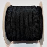 Elastic David 9 mm negru - 50 m rola
