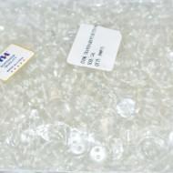 Nasturi lenjerie transparenti nr. 24 - 15 mm