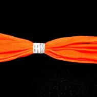 Sireturi 110 cm M48 - portocaliu neon - plate