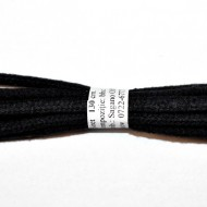 Sireturi bocanci 130 cm - negre rotunde