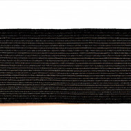Tresa elastica Eva 30 mm - 10 m / rola negru