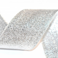 Banda Alexa 40 mm - 50 m rola - argintiu