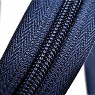 Fermoare nylon detasabil nr. 5 - 80 cm bleumarin