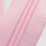 Fermoare nylon fixe nr. 3 - 50 cm, cod 133 roz