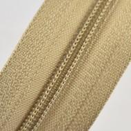 Fermoare nylon fixe nr. 3 - 50 cm, cod 308 bej deschis