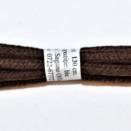 Sireturi bocanci 130 cm - maro rotunde