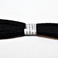 Sireturi bocanci 160 cm - negre - plate