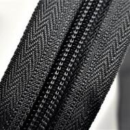 Fermoare nylon detasabil nr. 5 - 50 cm gri inchis