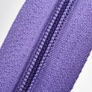 Fermoare nylon fixe nr. 3 - 50 cm, cod 192 mov