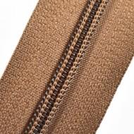Fermoare nylon fixe nr. 3 - 50 cm, cod 300 maro