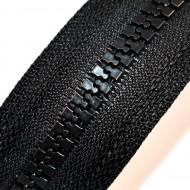 Fermoare plastic detasabile nr. 8 - 90 cm negru