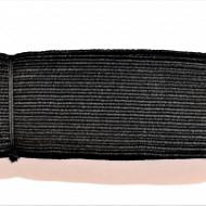 Tresa elastica Eva 40 mm - 10 m / rola negru
