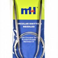 Andrele circulare cu fir metalic - 5,5 mm