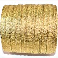 Banda Evelina 6 mm - 100 m rola auriu