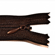 Fermoare ascunse 50 cm - cod 302 maro inchis