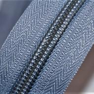 Fermoare nylon detasabil nr. 5 - 50 cm gri