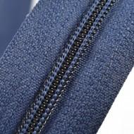 Fermoare nylon fixe nr. 3 - 50 cm, cod 330 bleumarin inchis