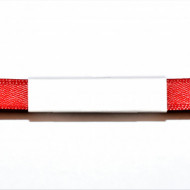 Panglica satin 10 mm - 10 m rosu
