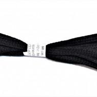 Sireturi pantofi 60 cm late - negre