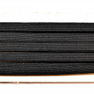 Tresa elastica Eva 12 mm - 20 m / rola negru