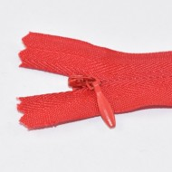 Fermoare ascunse nr. 3 - 20 cm rosu