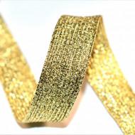Elastic lurex 20 mm - 10 m / rola auriu