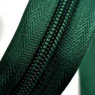 Fermoare nylon detasabil nr. 5 - 70 cm verde