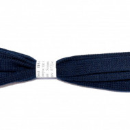 Sireturi 110 cm late - bleumarin