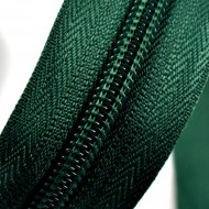 Fermoare nylon detasabil nr. 5 - 60 cm verde