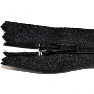 Fermoare nylon fixe nr. 3 - 20 cm negru