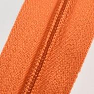 Fermoare nylon fixe nr. 3 - 50 cm, cod 157 portocaliu