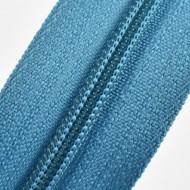 Fermoare nylon fixe nr. 3 - 50 cm, cod 210 turcoaz